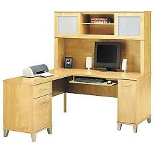 60 Inch Computer Desk Bush Somerset 60 Inch Computer Desk With Optional Hutch Walmart