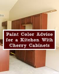 best color to paint kitchen with cherry cabinets paint color advice for a kitchen with cherry cabinets