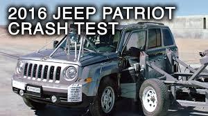 jeep patriot 2016 jeep patriot crash test side crash youtube