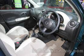 nissan micra active india nissan micra active t20 edition interior at 2016 auto expo