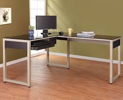 Z Line Belaire Glass L Shaped Computer Desk Black Z Line Belaire Glass L Shaped Computer Desk Crustpizza