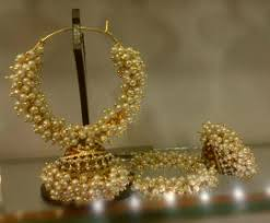 craftsvilla earrings moti hoops jhumkas pearl hoops with dangling jhumka craftsvilla