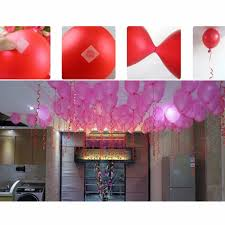 Wall Decoration With Balloons by 100dots Roll Removable Balloon Attachment Balloons Glue Dots To