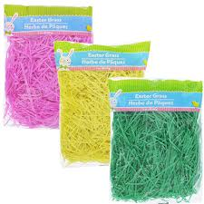 easter grass in bulk bulk solid color easter grass 3 oz bags at dollartree