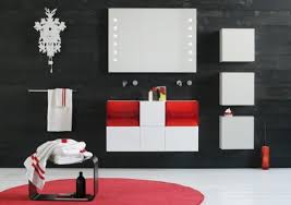 badezimmer rot badezimmer badezimmer grau rot rot grau badezimmer