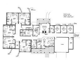 large floor plans ideas about 6 bedroom house plans on floor tiny big