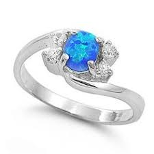 blue opal engagement rings tommaso design oval 8x6 genuine opal engagement ring size 8 5