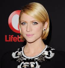 hair bangs tucked ear brittany snow wore her bob neatly tucked behind her ears at a recent