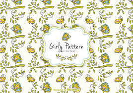 21 girly patterns free psd png vector eps format