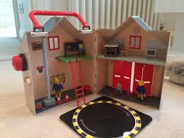 fireman sam deluxe fire station playset fantastic condition