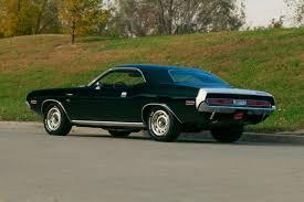 6 4 dodge challenger 1970 dodge challenger r t 440 6 pack 4 speed 1 of 1 black black