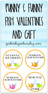fish valentines fish valentines and gift yesterday on tuesday