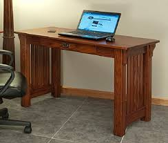 Solid Computer Desk Mission Style Solid Oak Office Computer Desk 55 The Within Plan 3