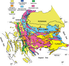 Map Of The Balkans The Multiply Deformed Foreland Fold Thrust Belt Of The Balkan