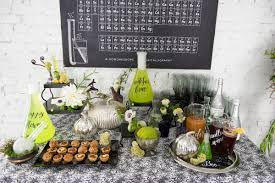 Pottery Barn Halloween Decorations Black Silver And Green Halloween Decorating Ideas