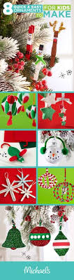 make this memorable by crafting diy ornaments with your
