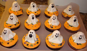 Halloween Cupcakes Ghost Tattoos And Champagne Just Say