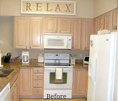 kitchen cabinet remake pickled to beachy kitchens house and