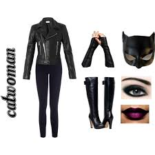 Catwoman Costume Halloween Catwoman Costume Polyvore