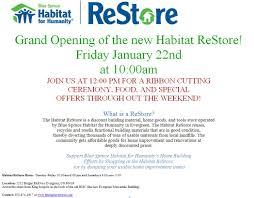 grand opening of habitat for humanity restore u2014 evstudio