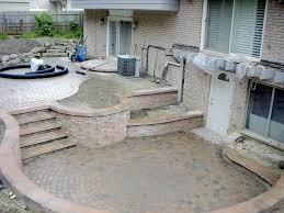 walkout basement backyard ideas kskn us