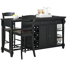 pennfield kitchen island amazon com powell pennfield kitchen island and stool kitchen