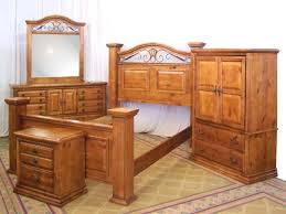 Natural Pine Bedroom Furniture by Pine Furniture