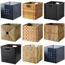 Ikea Storage Baskets Ikea Boxes Baskets Dimensioned To Fit Expedit Shelving Unit
