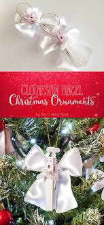 clothespin ornaments by the crafting nook