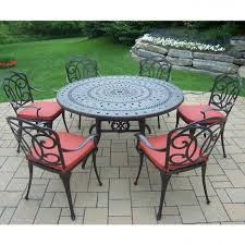 dining tables round patio set outdoor dining sets walmart red