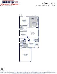 Dr Horton Summit Floor Plan Floor Plan For Dr Horton Home Distinctive Homes Afton Min House