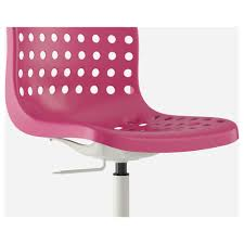 Pink Office Chair Skålberg Sporren Swivel Chair Pink White Ikea