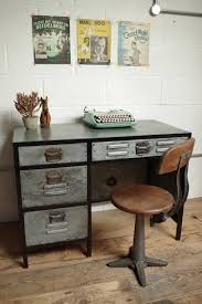 Industrial Office Desks by Vincent And Barn Industrial Office Desk My Warehouse Home