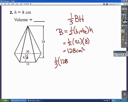 geometry chapter 10 practice test part b avi youtube