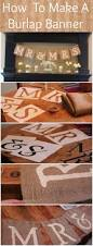 Decorative Wedding House Flags How To Make A Mr U0026 Mrs Burlap Banner Rustic Wedding Chic