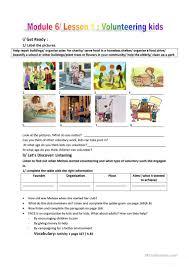 Antonym For Volunteer 8 Free Esl Volunteering Worksheets