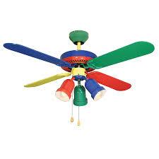 children s ceiling fans lowes shop harbor breeze 42 rainbow ceiling fan at lowes com