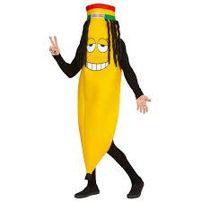 rasta banana costume punanaamio