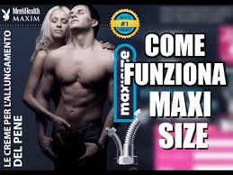 maxi size maxi size italy aumento garantito delle dimensioni membro