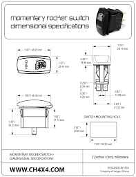ch4x4 rocker switch winch in out symbol additional information