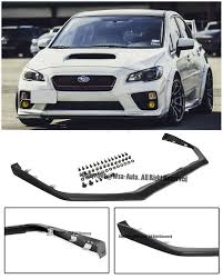 exterior usa vs jdm different front grille subaru impreza v limited jdm style front bumper lip spoiler for 15 up subaru wrx