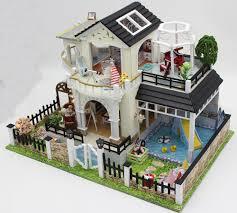 3d Home Design Kit Aliexpress Com Buy 24th Diy Wooden Handcraft Doll House 3d Model