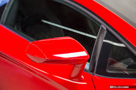 Lamborghini Aventador Side View - exotic car side view mirror protection ki studios
