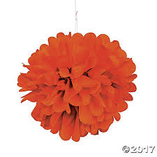 pom pom tissue decorations