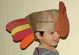 thanksgiving crafts hats divascuisine com