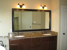 Bathroom Lights Ideas by Bathroom Lighting Ideas Over Mirror White Washbowl In Floating