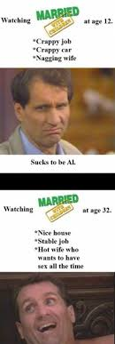 Married With Children Memes - married with children hiding the arousing content youtube