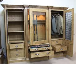 stack on 18 gun cabinet walmart furniture interesting gun cabinets with hanging clothes and