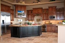 tv in the kitchen cornerstone cabinet company