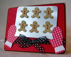 such a cute way to do gingerbread made by pam of from my kitchen
